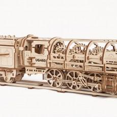 Modelbouw stoomlocomotief
