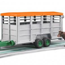 Veetransport aanhanger met koe