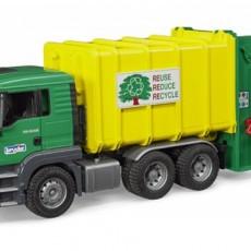 MAN TGS vuilniswagen met achterlader