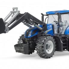 New Holland T7.315 tractor met voorlader