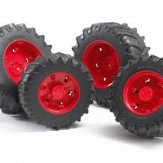 Vier rode tractorbanden 3000 serie