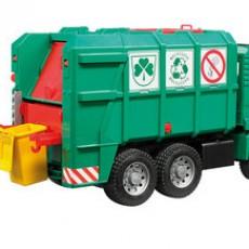 MAN TGA vuilniswagen groen