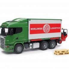 Scania R-serie vrachtwagen met wissellaadbak