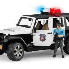 Jeep Politieauto met agent
