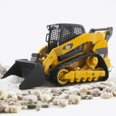 CAT minishovel met rupsbanden