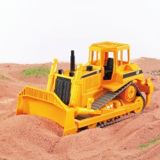 CAT bulldozer met rupsbanden