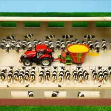 Loopstal voor koeien