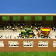Luxe loopstal voor koeien met ligboxen