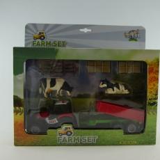 Set van tractor met kipper en accessoires
