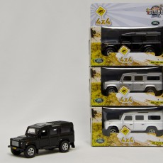 Land Rover Defender (zwart)