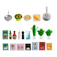 Set met keukenaccessoires
