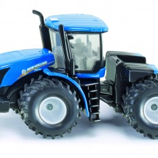 New Holland tractor met knikbesturing