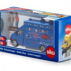 Zelfrijdende verkoopwagen