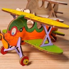 U-kids Tweedekker Vliegtuig