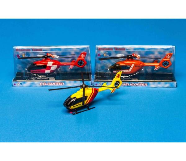 Reddingshelicopter rood