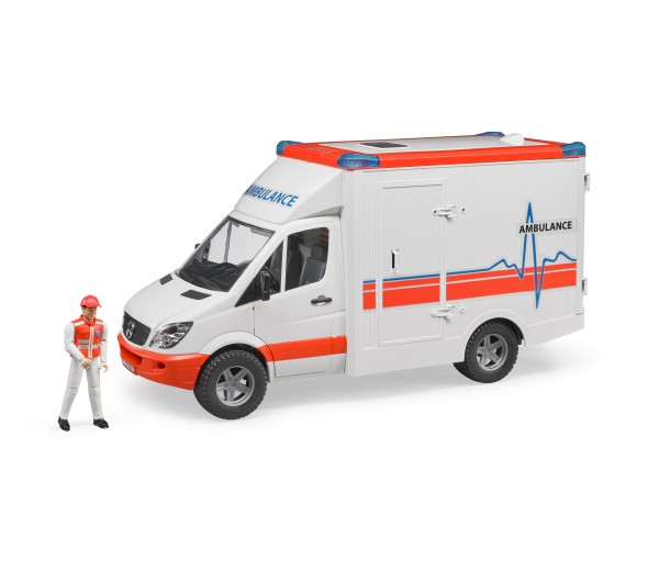 Ambulance met broeder