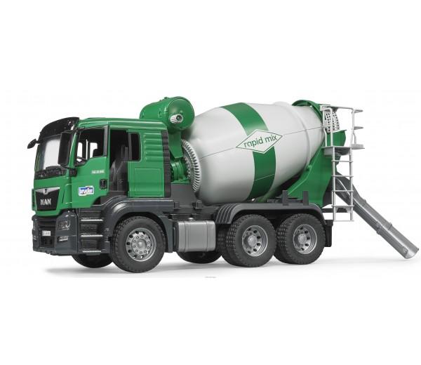 MAN TGS vrachtwagen met betonmixer