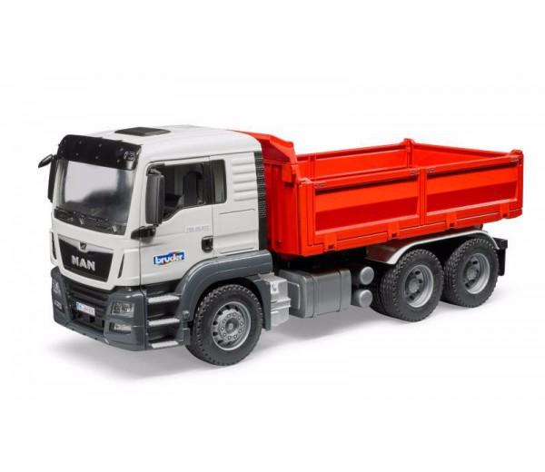 MAN TGS vrachtwagen met kipper