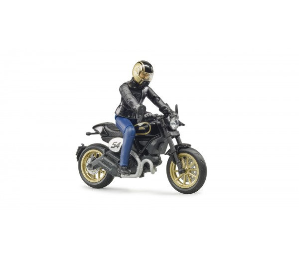 Ducati Scrambler Cafe Racer motor