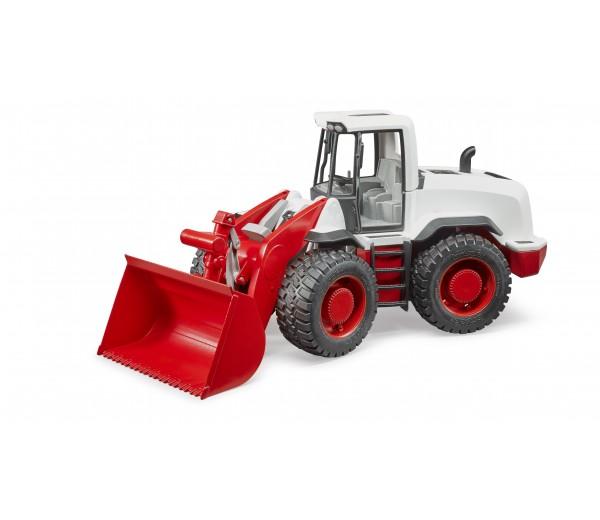 Rood met witte XL 5000 Shovel