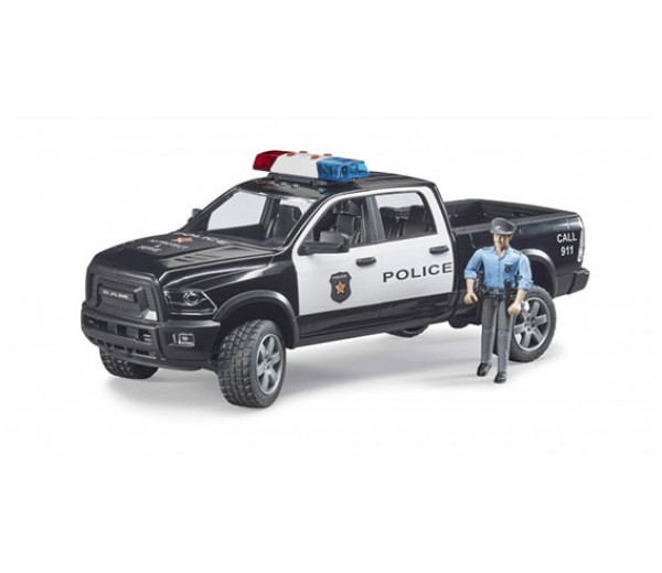 RAM 2500 Dodge Power Wagon politie pick-up met agent