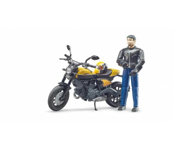 Scrambler Ducati Full Throttle motor