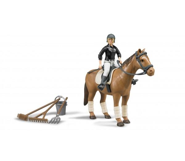 Paard en amazone