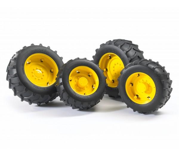 Vier gele tractorbanden 2000 serie