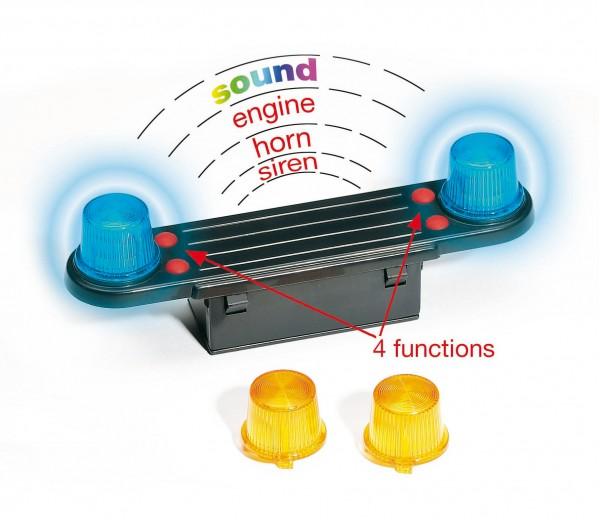 Licht- en geluidmodule vrachtwagens