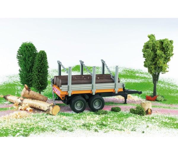 Aanhanger voor houttransport