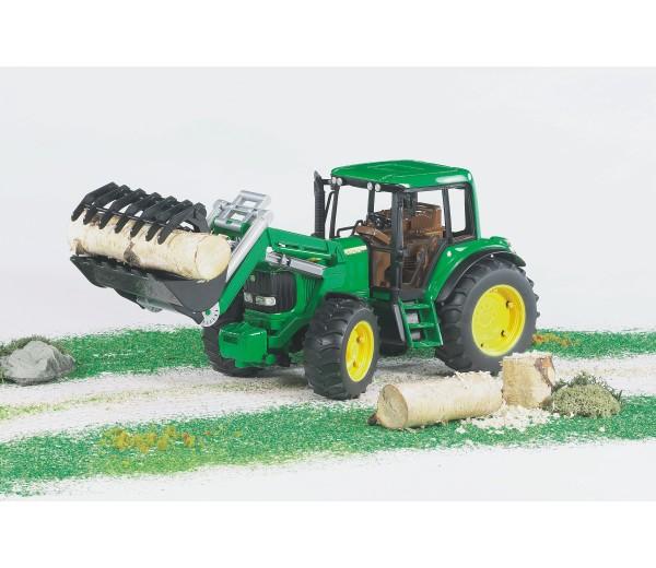 John Deere 6920 tractor met voorlader