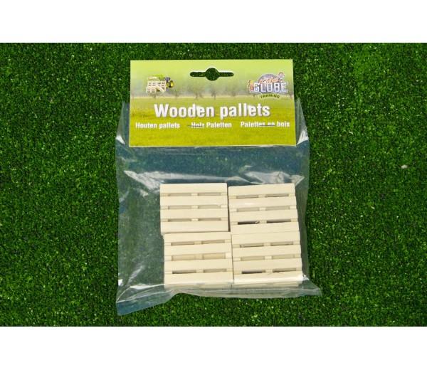 8 houten pallets