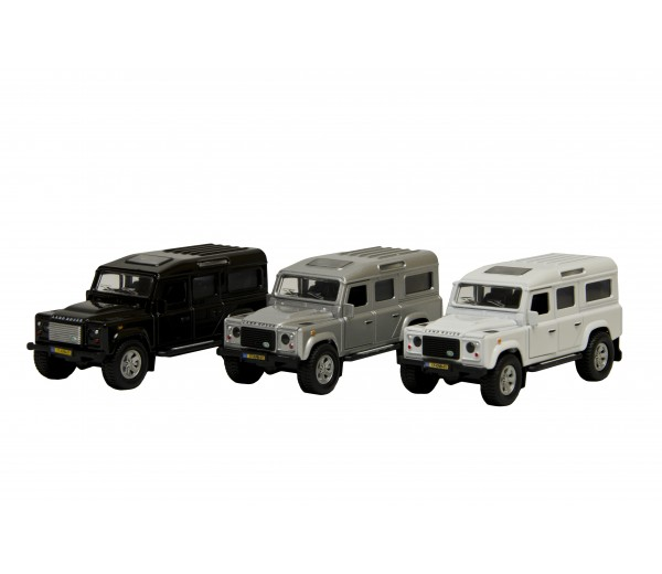 Land Rover Defender (grijs)