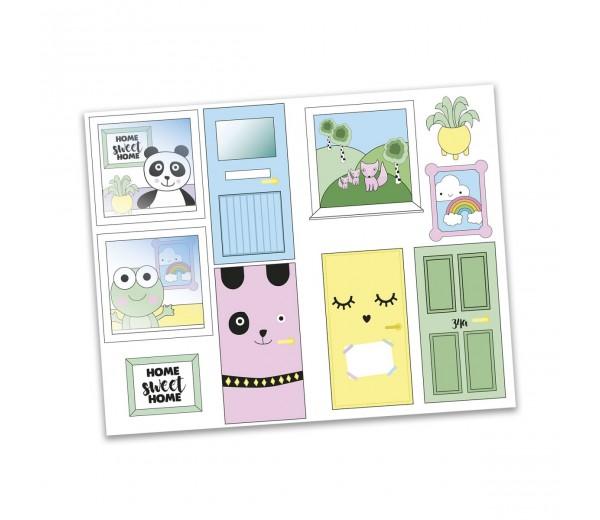 Lundby Creative - Stickerset Ramen en deuren