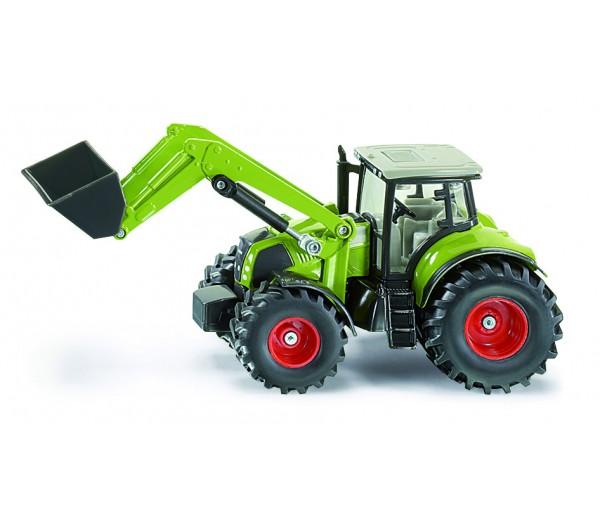Claas Axion 850 tractor met voorlader