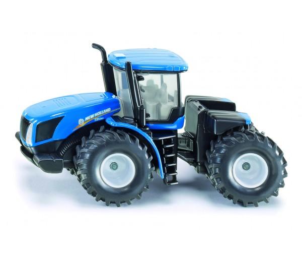 New Holland tractor met knikbesturing