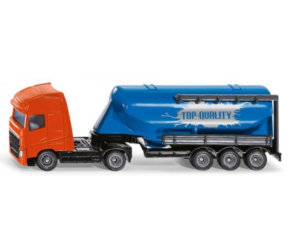Truck met silotrailer