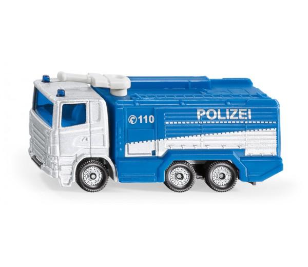 Waterkanon politiewagen