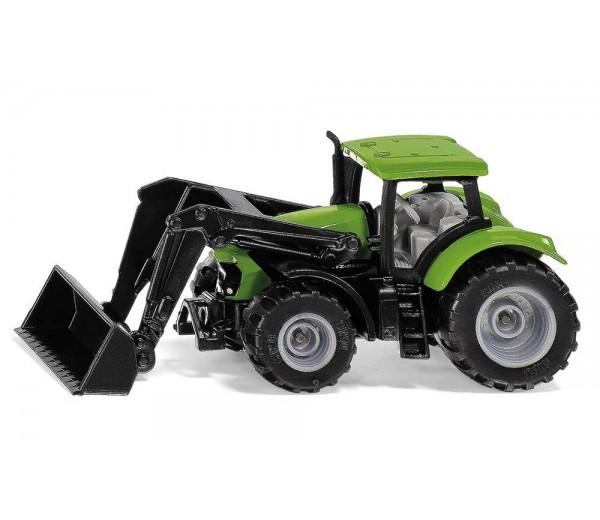 Deutz tractor met voorlader