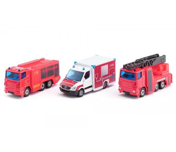 Set van 3 hulpdiensten