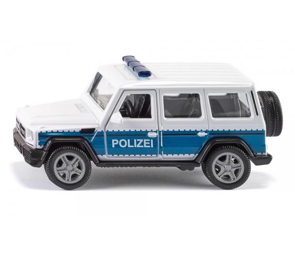 Duitse Mercedes AMG politieauto