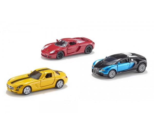 Set van 3 sportwagens