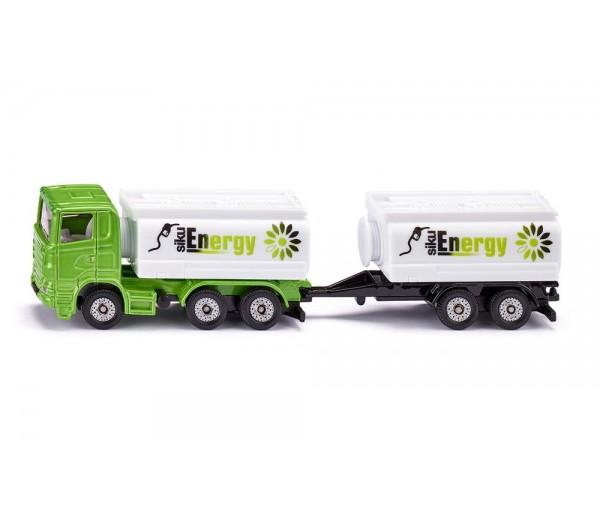 Siku Energy tankwagen met aanhanger