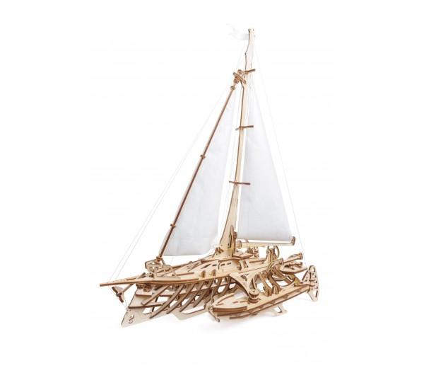 Trimaran Merihobus modelbouw