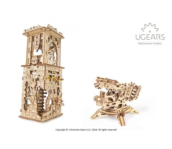 Modelbouw Archballista Toren