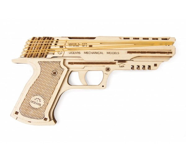 Wolf-01 pistool modelbouw