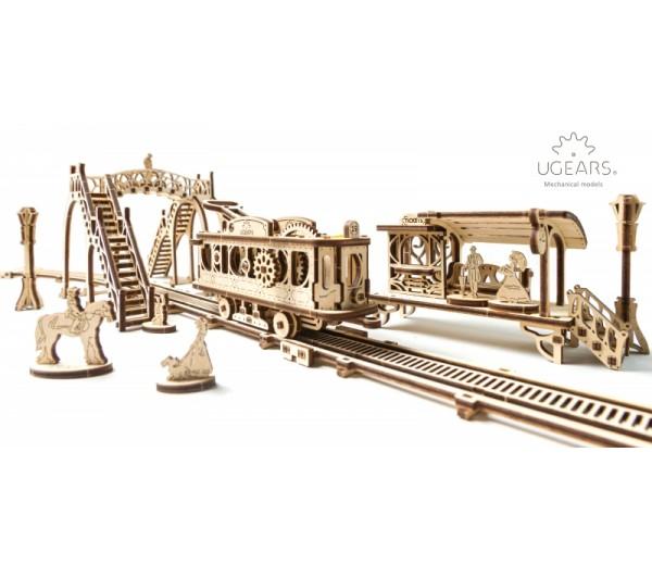Tramlijn modelbouw